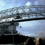 The Indiana Harbor and the Aerial Lift Bridge