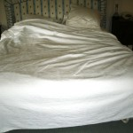 Straighten out the bedspread